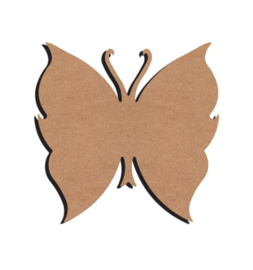 Vlinder MDF 26 cm