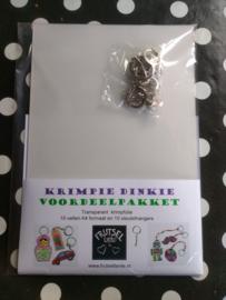 krimpfolie Transparant A4 formaat - VOORDEELPAKKET