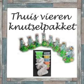 THUIS VIEREN PAKKET (vanaf 4 kinderen)