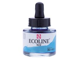Ecoline potje turkooisblauw