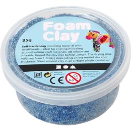 Foam Clay®, blauw, 35gr