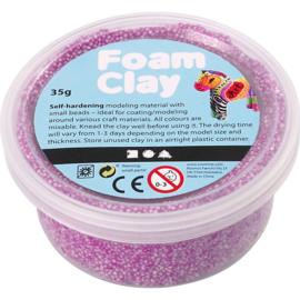 Foam Clay, neon paars, 35gr