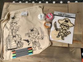 Piraat pakket 1 (tas en foam clay)