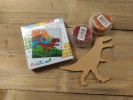 Dino pakket  (pixel -foam clay - gomille)