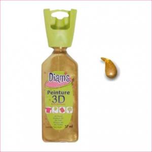 DI40929- 3D verf parelmoer antiek goud (orantique)
