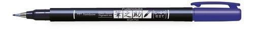 Tombow Brush pen Fudenosuke hard WS-BH BLAUW