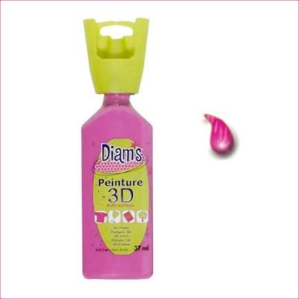 DI40957- 3D verf glanzend Fuchsia