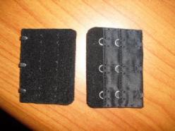 V 001 Verlenging stukje ZWART 1X twee standen