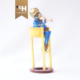 Jheronimus Bosch miniatuur ''Duivel Op Stoel''
