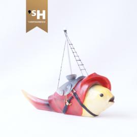 Jheronimus Bosch miniatuur ''Vis met Mast''