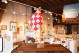 Brabants Vlaggetje met mast