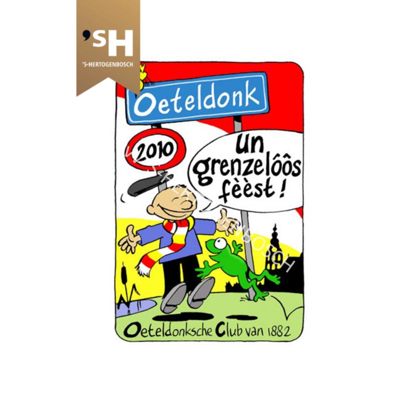 """Embleem 2010 """"Un grenzelôôs féést!"""""""