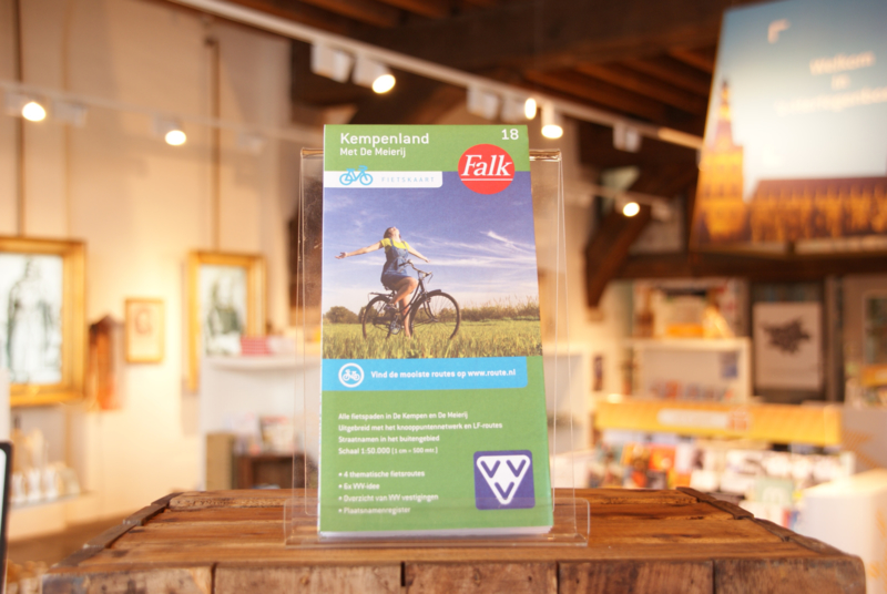 Falk fietskaart 18 Kempenland