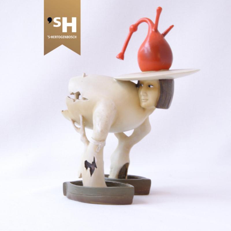 Jheronimus Bosch miniatuur ''Boommens''