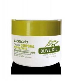 Crema corporal con aceite oliva