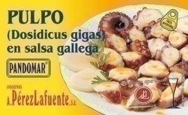 Tentaculos de calamar en salsa Gallega 120gr