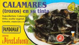 Calamares (trozos) en su tinta 120gr