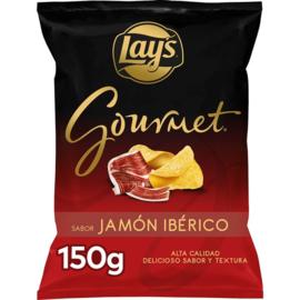 Gourmet Patatas fritas sabor jamon 150gr