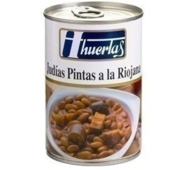 Judias Pintas a la Riojana 415gr