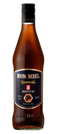 Guancho licor ron miel