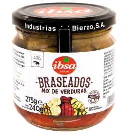 Braseados mix verduras/ geroosterde mix groenten 280gr