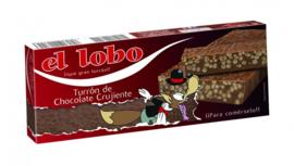El Lobo turron Chocolate Crujiente