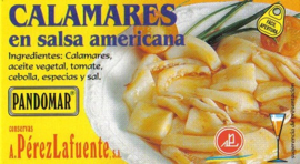 Calamares en salsa americana 120gr