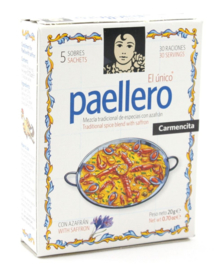 Carmencita Paellero clásico 5 x 20gr
