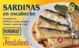 Sardinas en escabeche 125gr