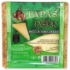 El Pastor Cuña de queso 3 leches semi, 250 gr