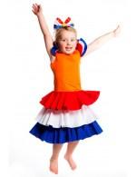 Oranje Jurk voor kinderen: 2 Jaar