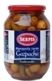 Serpis Aceitunas Gazpacha, 835gr