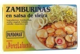 Zamburiñas salsa vieira 120gr