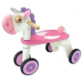 Houten loopfiets unicorn (eenhoorn) I'm Toy