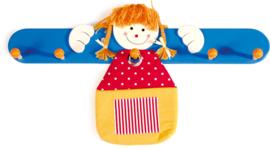 Houten kinderkapstok 'Luisa'
