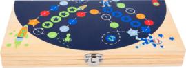 Bordspel  ludo 'ruimtevaart'