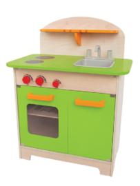 Hape speelgoedkeuken groen