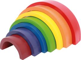 Houten regenboog groot