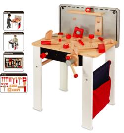 Houten werkbank en tekentafel 2 in 1 I'm Toy