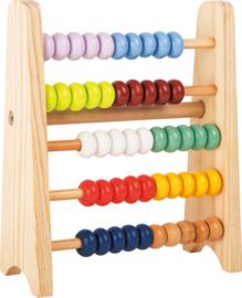 Houten telraam / abacus design