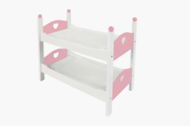 Angel Toys houten stapelbed