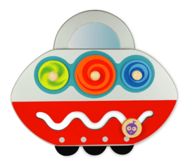 I'm Toy activity wandpaneel UFO I'm Toy