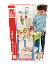 Houten werkbank Hape incl. accessoires