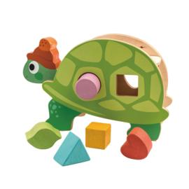 Houten vormenstoof schildpad Tender Leaf Toys