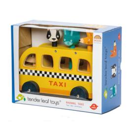 Houten dierentaxi Tender Leaf Toys