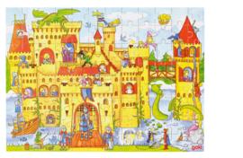 Puzzel ridderburcht 96-delig