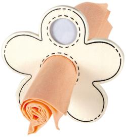 Kleur je eigen servethouder (set van 3 stuks)