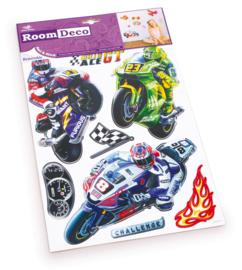 Decoratiestickers motor