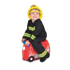 Trunki kinderkoffer brandweerwagen Frank