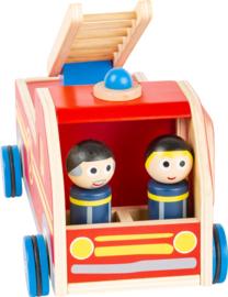 Houten brandweerwagen XL